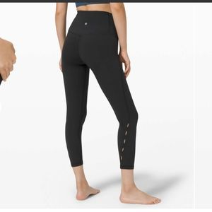 "NWT Lululemon Unlimit High-Rise Tight 25"" *Keyhole"